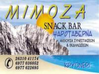 Ψαροταβέρνα Καφέ snack bar